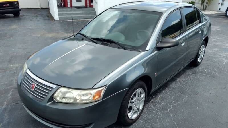 2005 Saturn Ion for sale at AFFORDABLE AUTO SALES in We Finance Everyone! FL