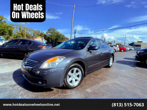 2008 Nissan Altima for sale at Hot Deals On Wheels in Tampa FL