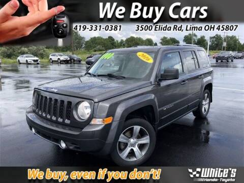 2016 Jeep Patriot for sale at White's Honda Toyota of Lima in Lima OH