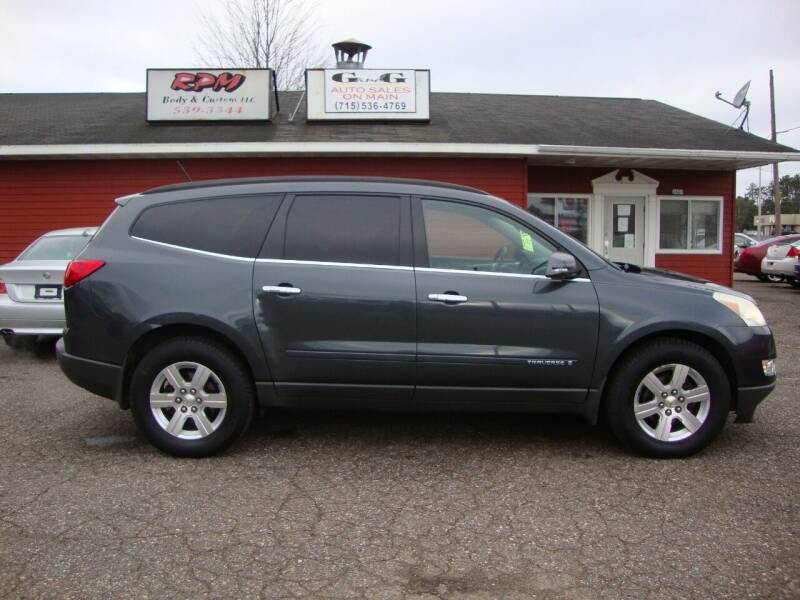 2009 Chevrolet Traverse for sale at G and G AUTO SALES in Merrill WI