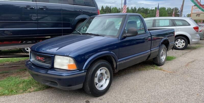 1998 GMC Sonoma for sale at CARS R US in Caro MI