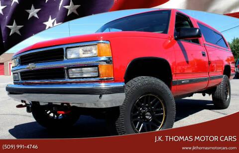 1998 Chevrolet C/K 1500 Series for sale at J.K. Thomas Motor Cars in Spokane Valley WA