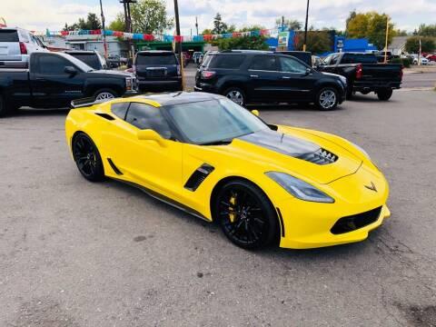 2016 Chevrolet Corvette for sale at Lion's Auto INC in Denver CO