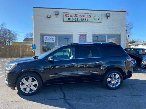 2014 GMC Acadia for sale at C & S SALES in Belton MO