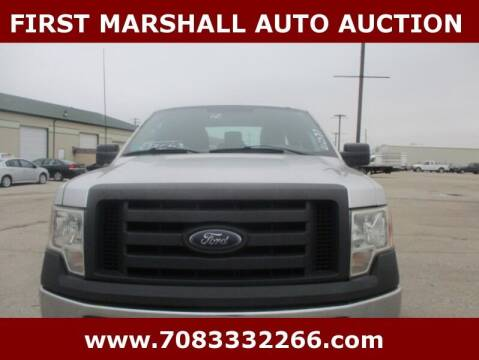 2012 Ford F-150 for sale at First Marshall Auto Auction in Harvey IL