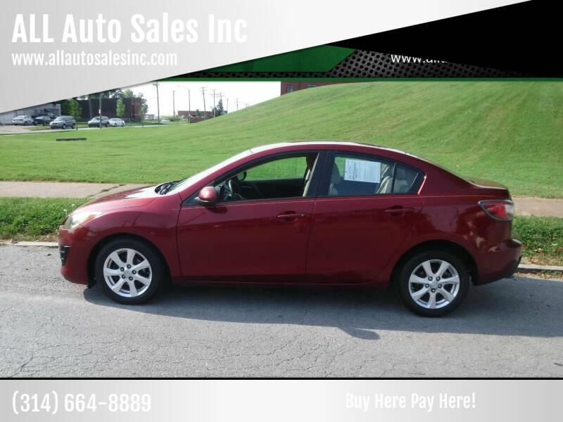 2010 Mazda MAZDA3 for sale at ALL Auto Sales Inc in Saint Louis MO