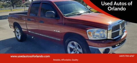 2008 Dodge Ram Pickup 1500 for sale at Used Autos of Orlando in Orlando FL