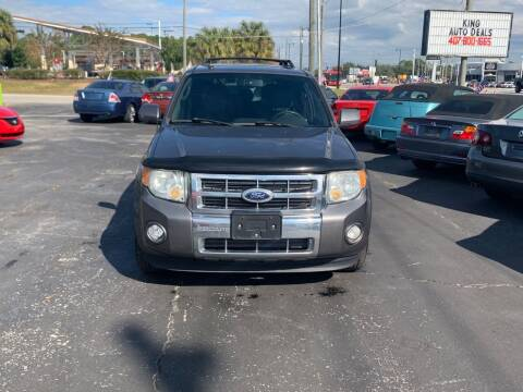 2010 Ford Escape for sale at King Auto Deals in Longwood FL