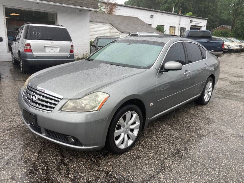 2006 Infiniti M35 for sale at ENFIELD STREET AUTO SALES in Enfield CT