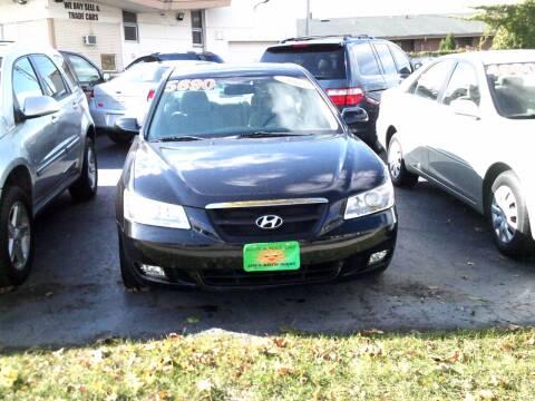 2007 Hyundai Sonata for sale at JIMS AUTO MART INC in Milwaukee WI