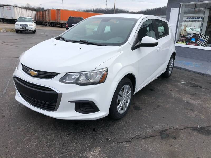 2017 Chevrolet Sonic for sale at Hensley Auto Sales in Frankfort KY