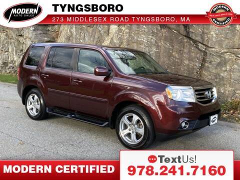 2014 Honda Pilot for sale at Modern Auto Sales in Tyngsboro MA