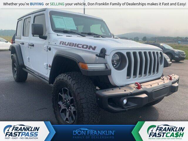 2018 Jeep Wrangler Unlimited for sale in Monticello, KY