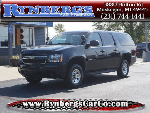 2013 Chevrolet Suburban for sale at Rynbergs Car Co in Muskegon MI