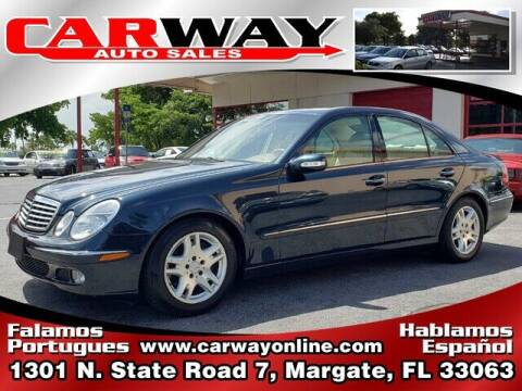 2005 Mercedes-Benz E-Class for sale at CARWAY Auto Sales in Margate FL