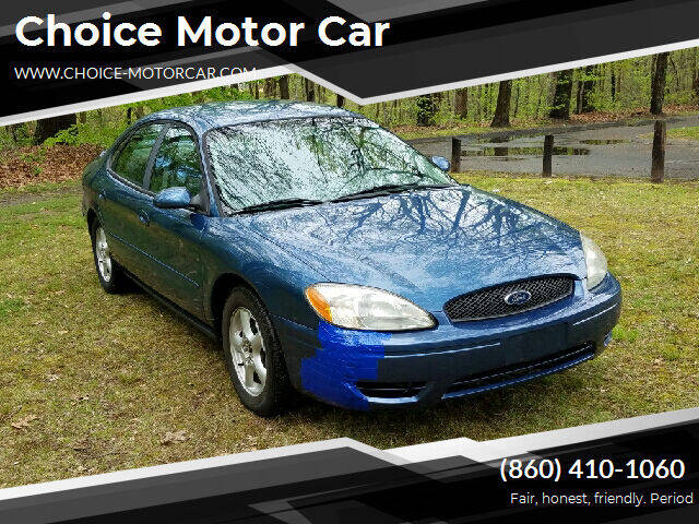 2004 Ford Taurus for sale at Choice Motor Car in Plainville CT