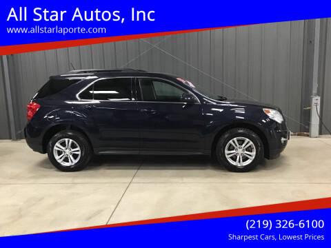 2015 Chevrolet Equinox for sale at All Star Autos, Inc in La Porte IN