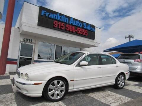 2004 Jaguar X-Type for sale at Franklin Auto Sales in El Paso TX