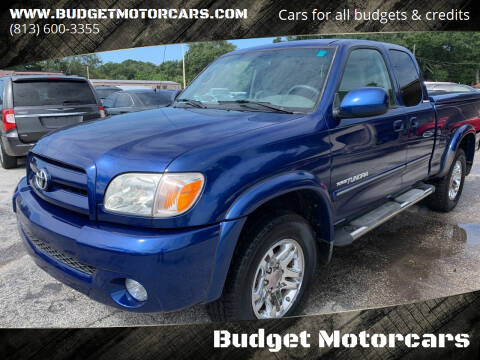 2006 Toyota Tundra for sale at Budget Motorcars in Tampa FL