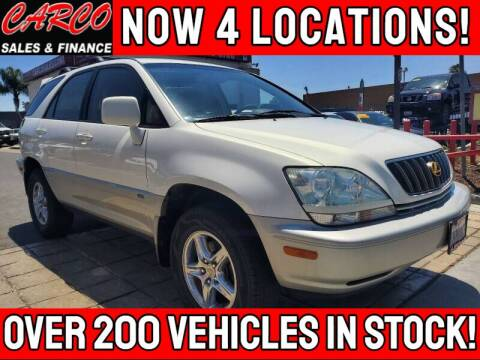 2002 Lexus RX 300 for sale at CARCO SALES & FINANCE in Chula Vista CA