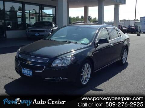 2011 Chevrolet Malibu for sale at PARKWAY AUTO CENTER AND RV in Deer Park WA