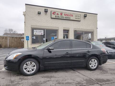 2012 Nissan Altima for sale at C & S SALES in Belton MO