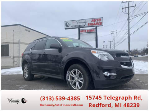2016 Chevrolet Equinox for sale at The Family Auto Finance in Redford MI