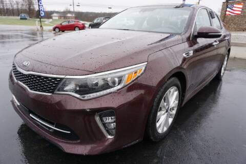 2018 Kia Optima for sale at MyEzAutoBroker.com in Mount Vernon OH