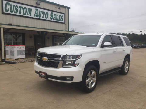 2016 Chevrolet Tahoe for sale at Custom Auto Sales - AUTOS in Longview TX