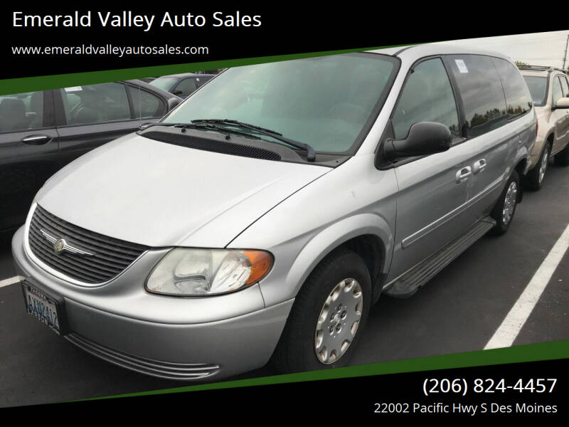 2004 Chrysler Town and Country for sale at Emerald Valley Auto Sales in Des Moines WA