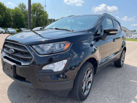 2018 Ford EcoSport for sale at Blake Hollenbeck Auto Sales in Greenville MI