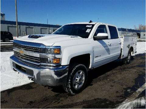 2018 Chevrolet Silverado 2500HD for sale at CENTURY TRUCKS & VANS in Grand Prairie TX