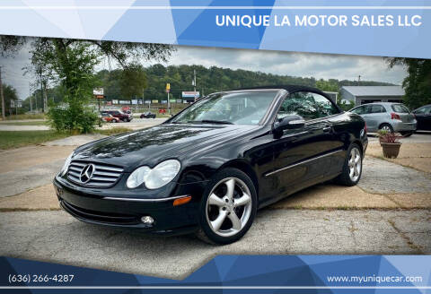 2004 Mercedes-Benz CLK for sale at Unique LA Motor Sales LLC in Byrnes Mill MO