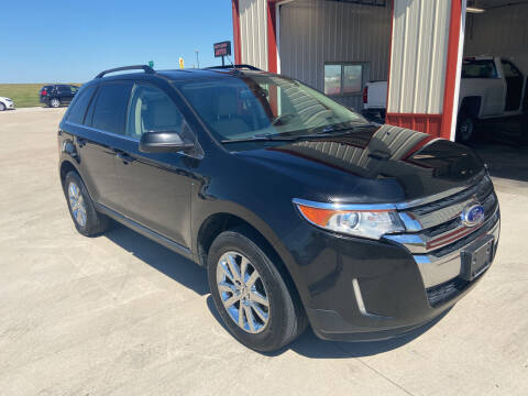 2013 Ford Edge for sale at SCOTT LEMAN AUTOS in Goodfield IL