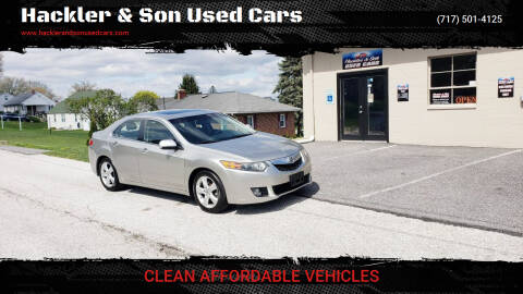 2009 Acura TSX for sale at Hackler & Son Used Cars in Red Lion PA