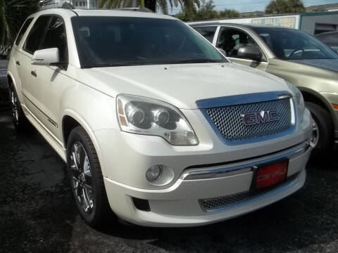 2012 GMC Acadia for sale at PJ's Auto World Inc in Clearwater FL
