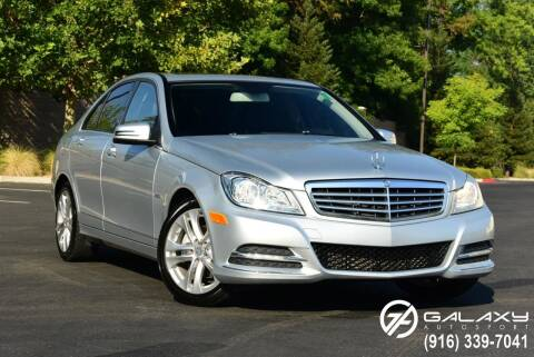 2012 Mercedes-Benz C-Class for sale at Galaxy Autosport in Sacramento CA