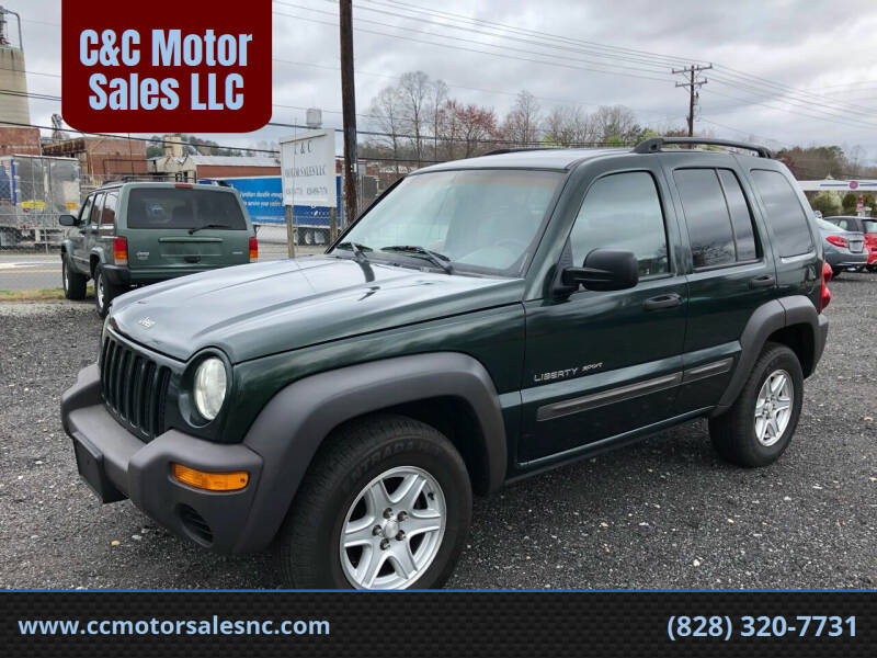 2002 Jeep Liberty for sale at C&C Motor Sales LLC in Hudson NC