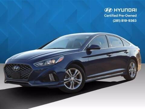 2019 Hyundai Sonata for sale at BIG STAR HYUNDAI in Houston TX