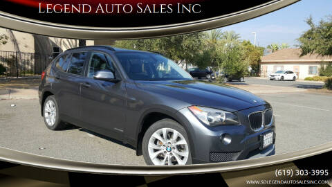 2014 BMW X1 for sale at Legend Auto Sales Inc in Lemon Grove CA