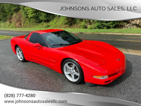 1998 Chevrolet Corvette for sale at Johnsons Auto Sales, LLC in Marshall NC