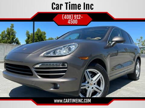 2011 Porsche Cayenne for sale at Car Time Inc in San Jose CA