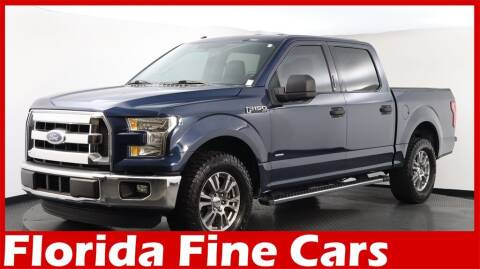 2016 Ford F-150 for sale at Florida Fine Cars - West Palm Beach in West Palm Beach FL
