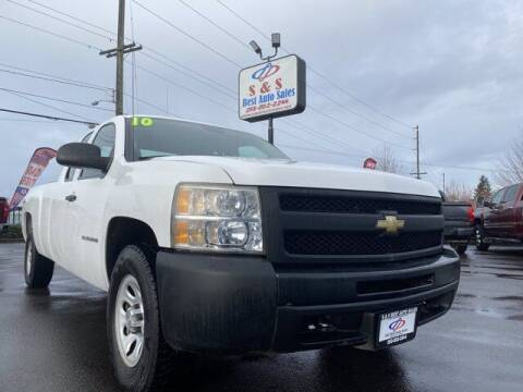 2010 Chevrolet Silverado 1500 for sale at S&S Best Auto Sales LLC in Auburn WA