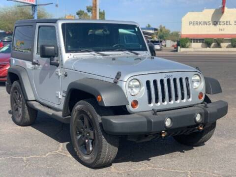 2012 Jeep Wrangler for sale at Brown & Brown Wholesale in Mesa AZ