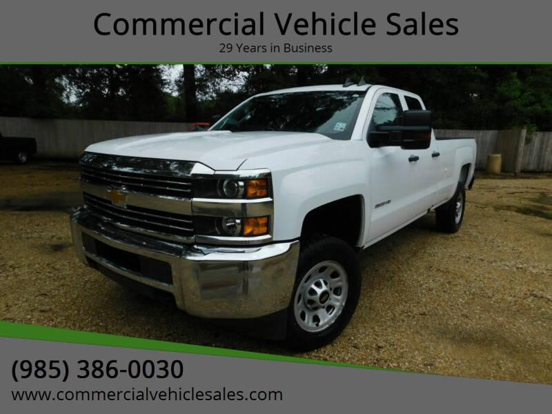 2017 Chevrolet Silverado 2500HD for sale at Commercial Vehicle Sales in Ponchatoula LA