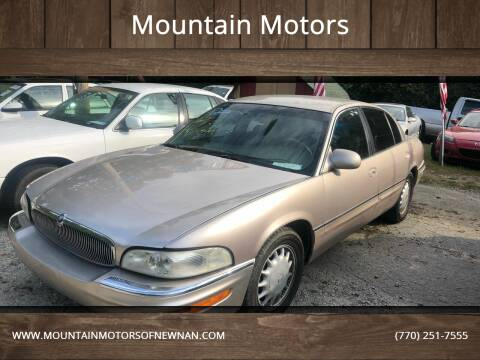1999 Buick Park Avenue for sale at Mountain Motors in Newnan GA