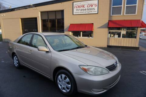 2002 Toyota Camry for sale at I-Deal Cars LLC in York PA