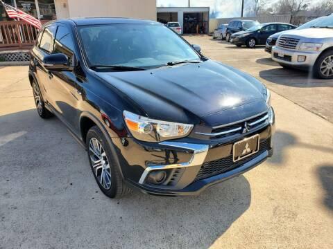 2018 Mitsubishi Outlander Sport for sale at Zora Motors in Houston TX