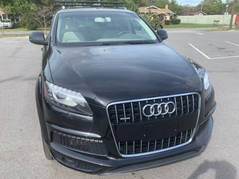 2012 Audi Q7 for sale at Consumer Auto Credit in Tampa FL